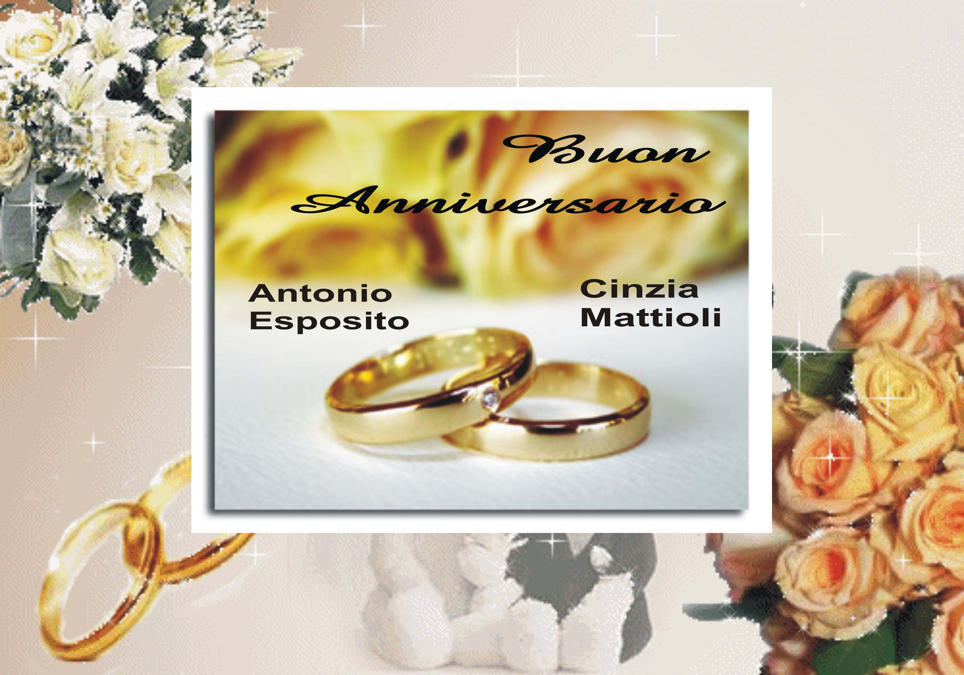 Favoloso Anniversario 17 Anni Di Matrimonio ~ Idee Creative e Innovative  SW04