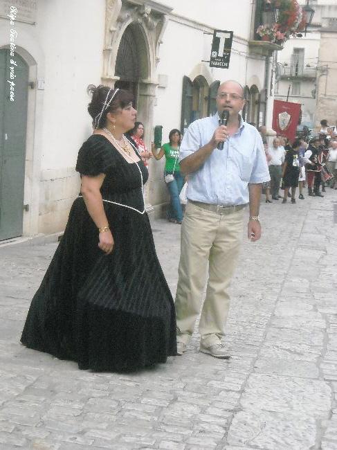 Gabriella ed il Sindaco di Lama dei Peligni