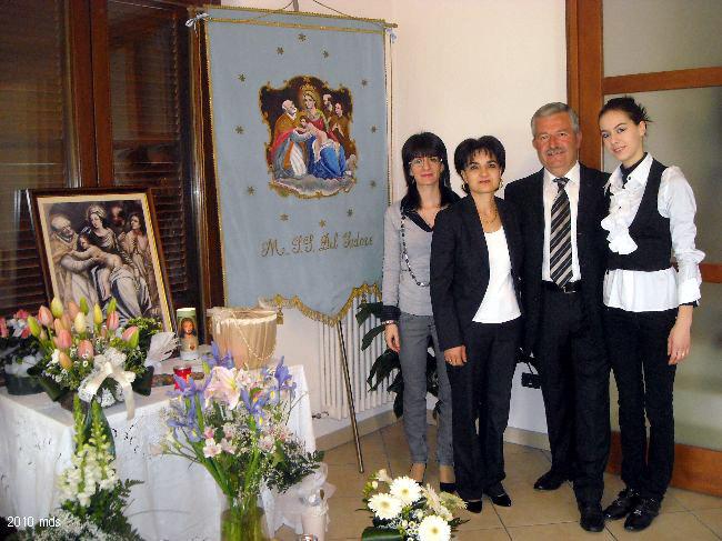 Verna Ulisse e famiglia