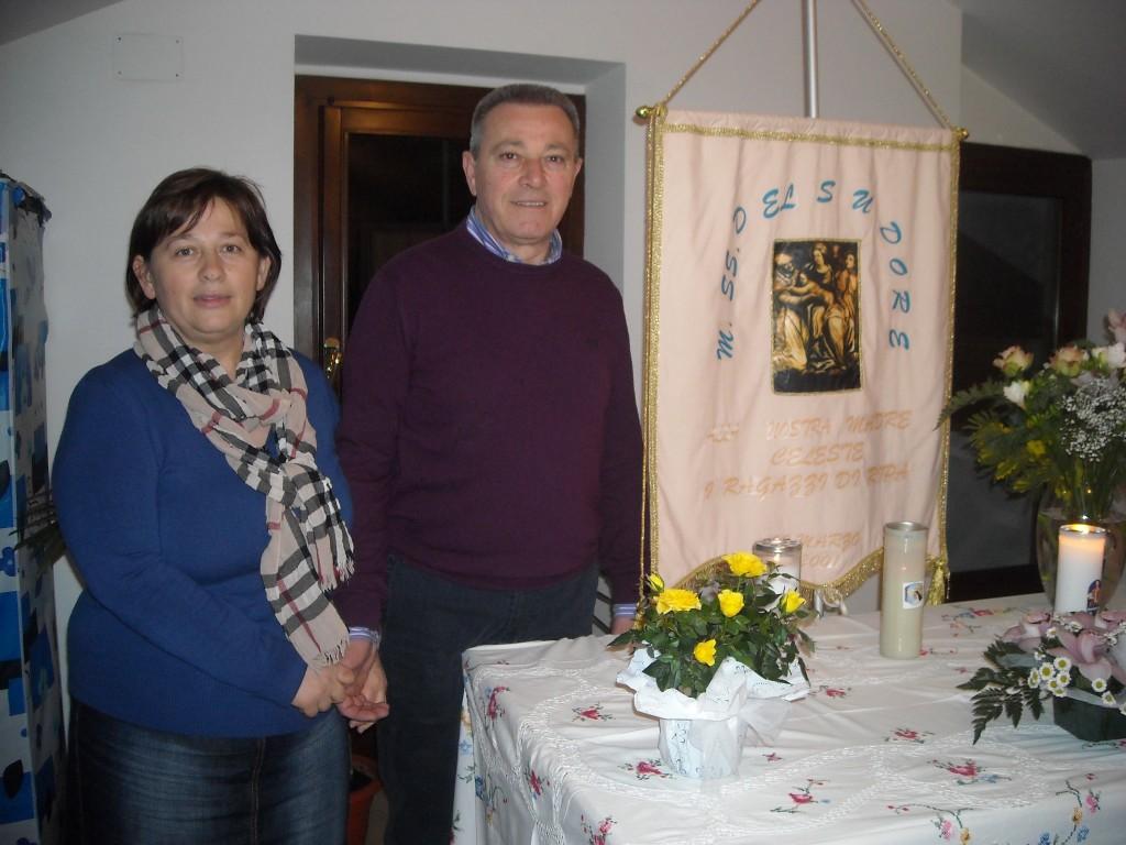 Pizzia Mauro e signora