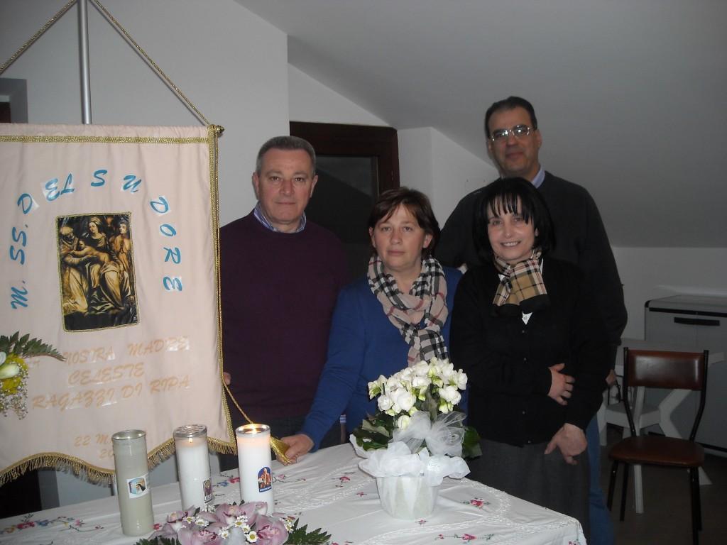 Famiglia Pizzica con amici