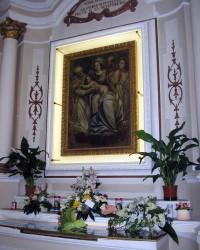 Quadro miracoloso della Madonna del Sudore