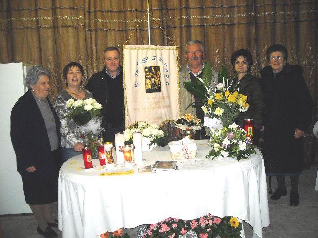 Pizzica Mauro e Verna Ulisse con le rispettive famiglie