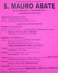 Manifesto san Mauro
