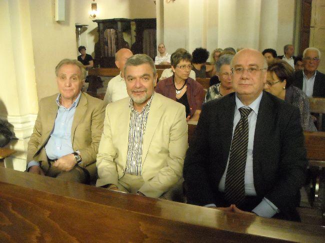 Rucci Ignazio, vice sindaco di Ripa, Dr. Mauro Petrucci, sindaco di Ripa, Innaurato Antonio Mario, sindaco di Gessopalena
