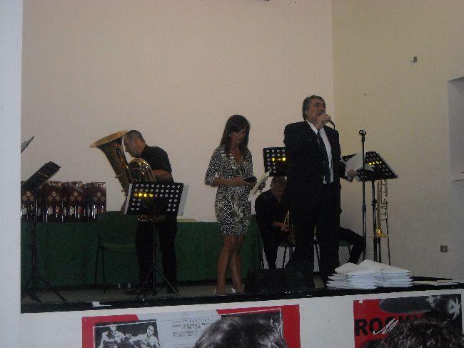 I presentatori: Monaco Emiliana e Luciani Roberto
