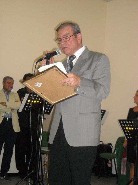 Il vincitore delle edizione anno 2011: Camillo Coccione
