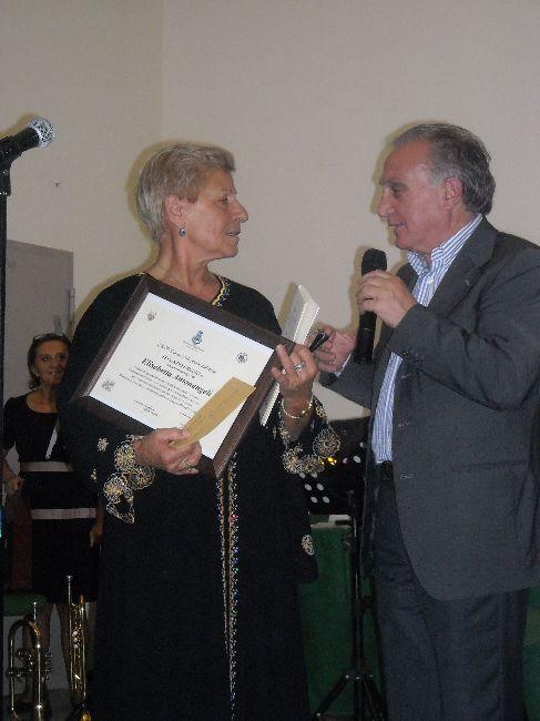 La seconda classificata : Elisabetta Antonangeli