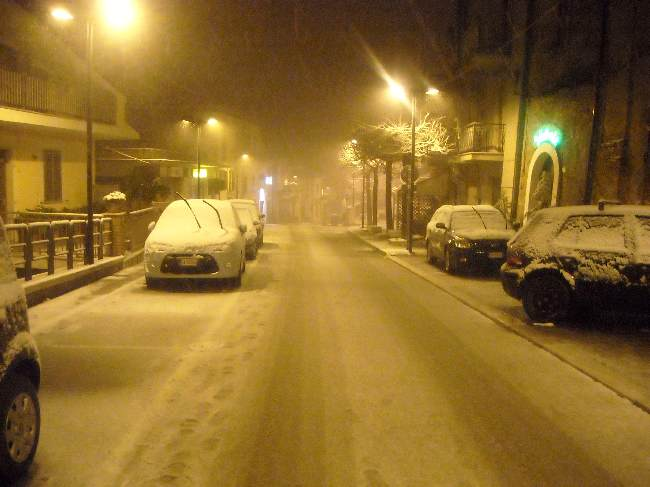 ... la prima neve ...