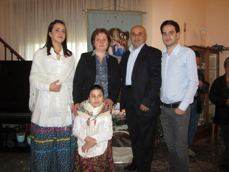 La famiglia Masci Fernando