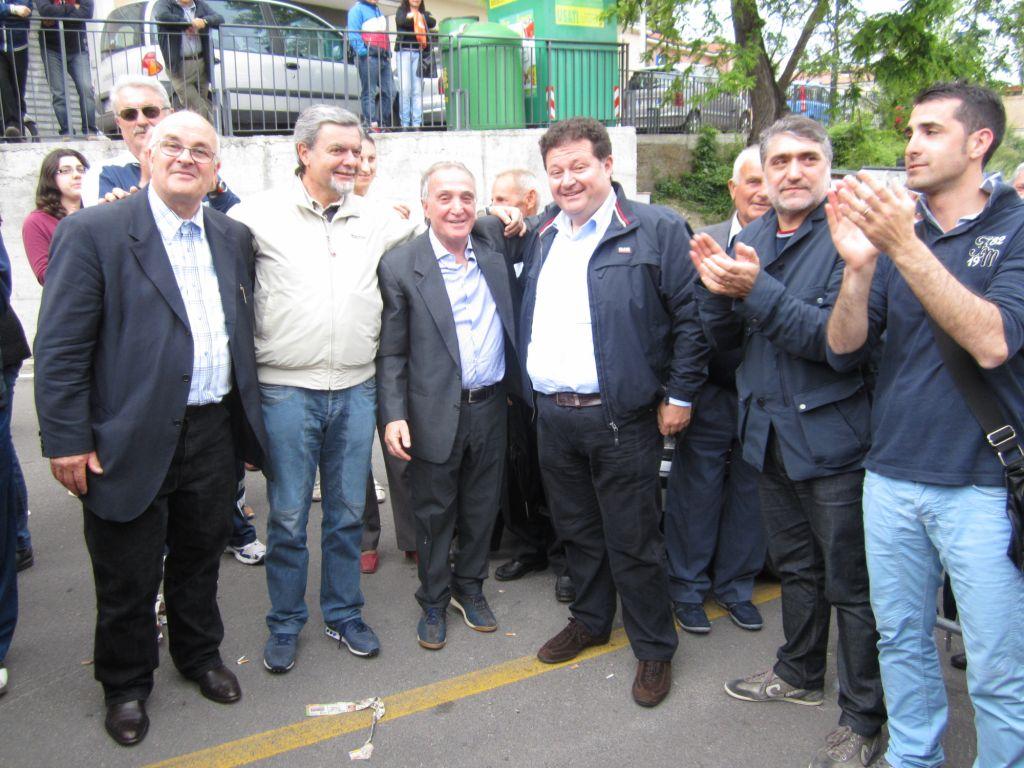.. con Nicolò Moreno. Neo eletto.