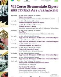 corso strumentale 2012