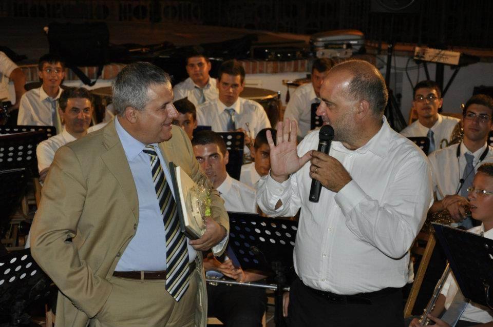 Il M° Fulvio Creux e il M° Fausto Esposito