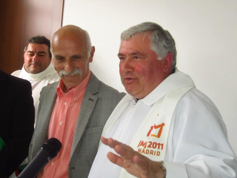 Il saluto del parroco Don Gennaro